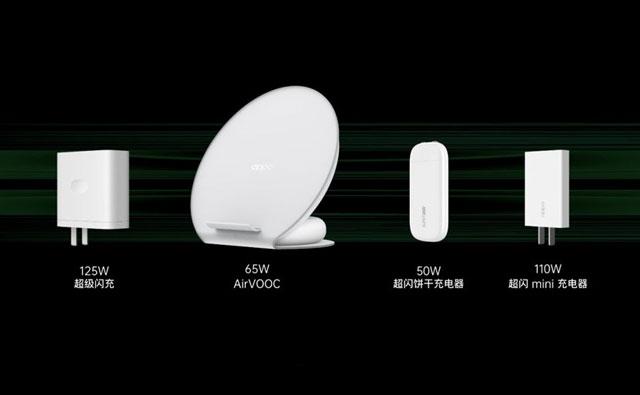 OPPO推出125W充电技术 兼容主流协议,支持手机平板笔记本